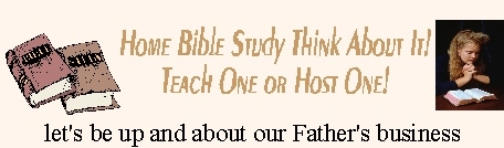 Home Bible Studies